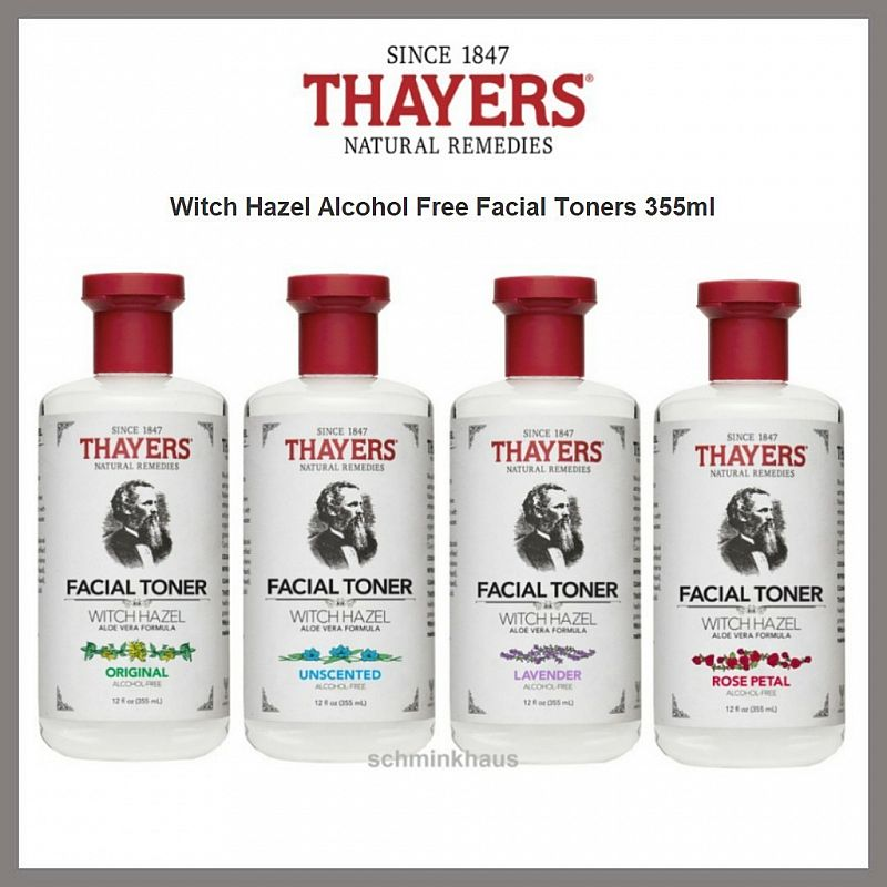 Thayers Witch Hazel Alcohol Free Facial Toner 355ml