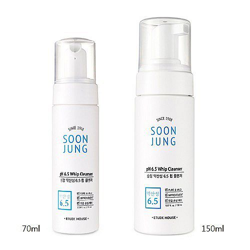 ETUDE HOUSE Soon Jung pH 6.5 Whipe Cleanser