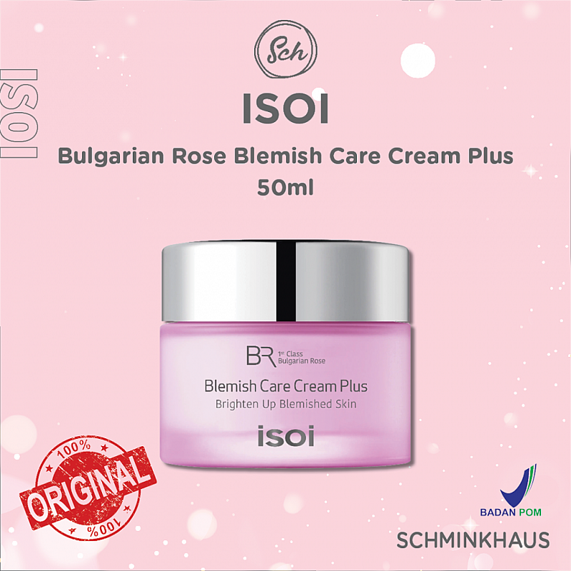 [BPOM] ISOI Bulgarian Rose Blemish Care Cream Plus 50ml