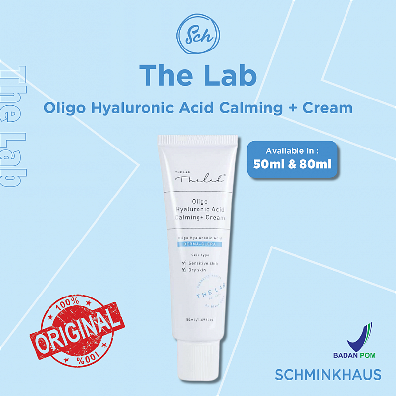 [BPOM] THE LAB Oligo Hyaluronic Acid Calming + Cream 50ml